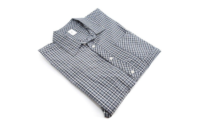 Download Славная мужская рубашка проверки Стоковое Изображение - изображение насчитывающей элегантность, розница: 41658595