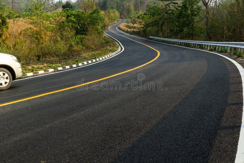 Славная дорога асфальта стоковое изображение rf
