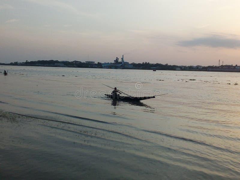Славное река стоковое фото