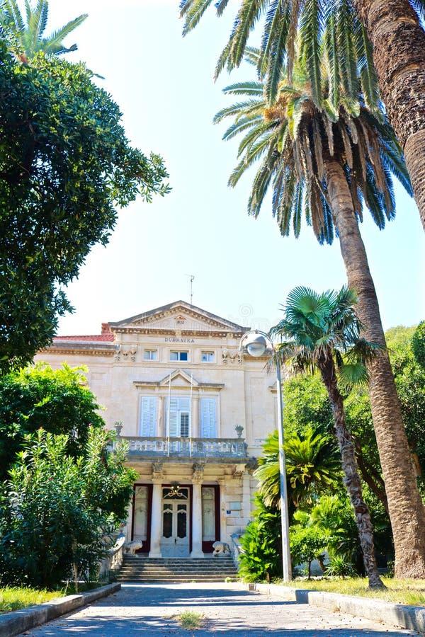 Славный дом в Дубровнике, Хорватии стоковое изображение