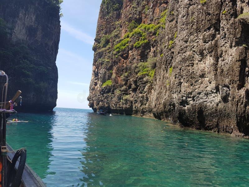 Славный путь моря стоковое фото