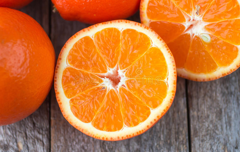 Сладкие апельсины приносить (mineola) стоковое изображение rf
