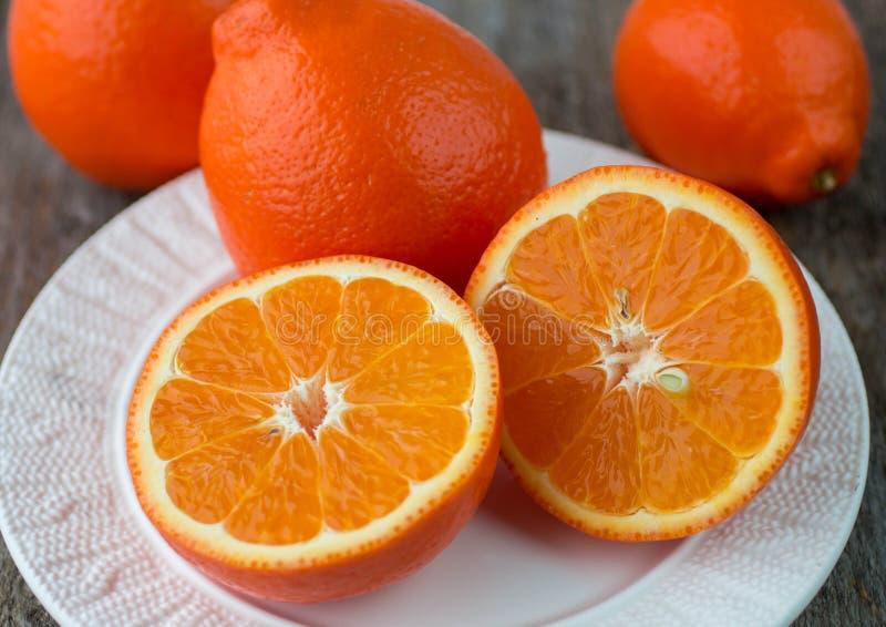 Сладкие апельсины приносить (mineola) стоковая фотография rf