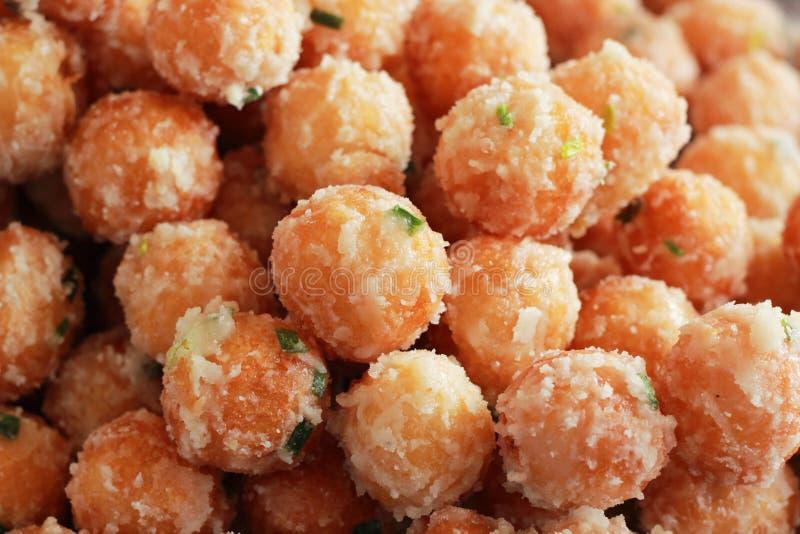Сладкий картофель жарит стиль Азии. стоковое фото rf