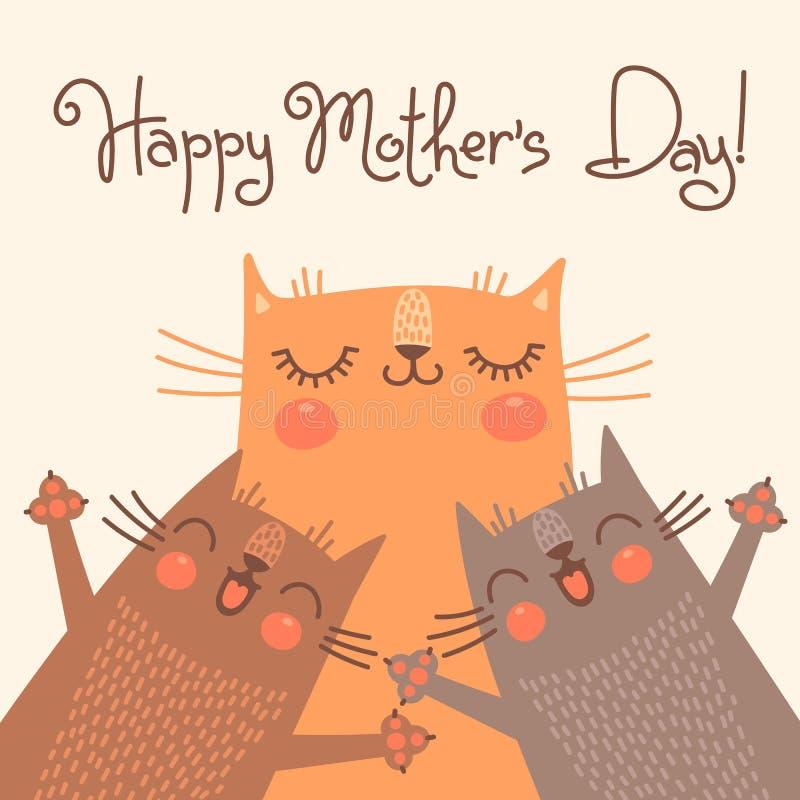 Открытки днем, с праздником мамы картинки с котом