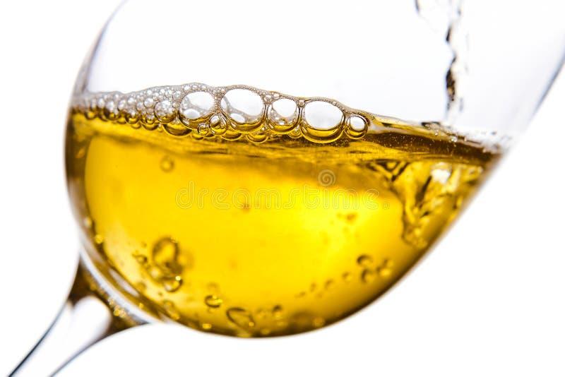 Сладостное вино изолированное на белой предпосылке стоковое фото