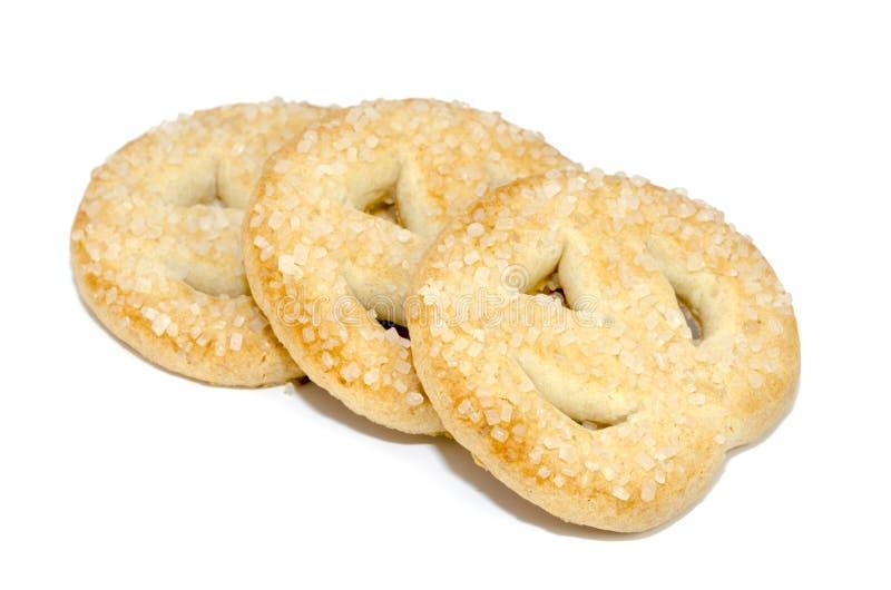 Сладостные печенья стоковое изображение rf