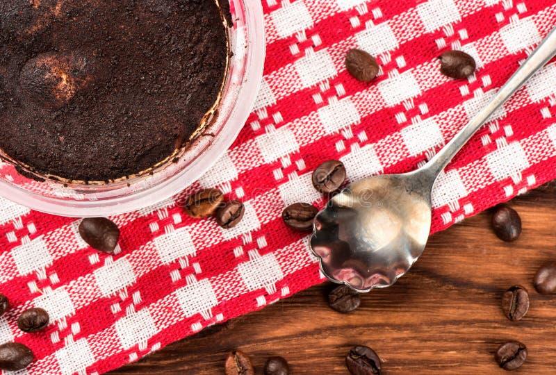 Сладостный десерт Tiramisu стоковое фото