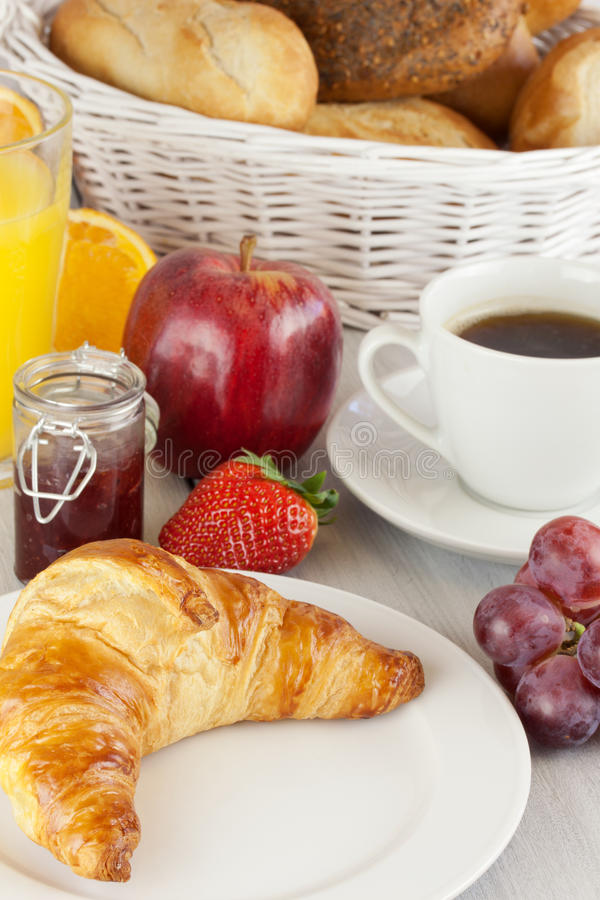 Сладостный завтрак стоковое изображение rf