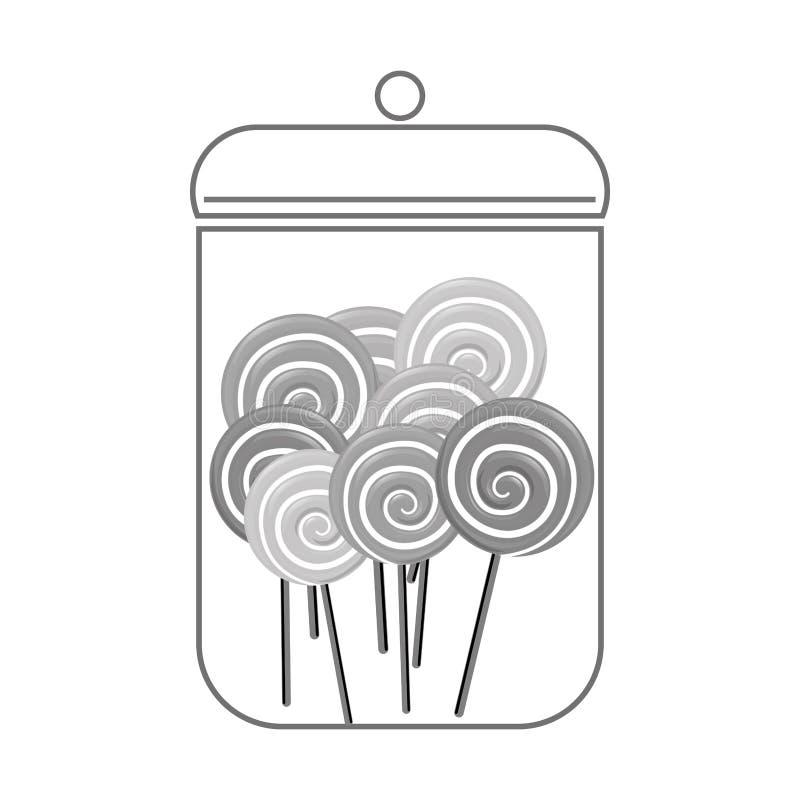 Download сладостный дизайн конфеты иллюстрация вектора. иллюстрации насчитывающей вектор - 81802344