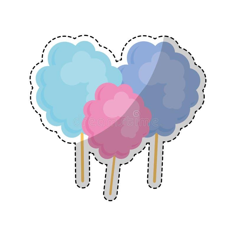 Download сладостный дизайн конфеты иллюстрация вектора. иллюстрации насчитывающей карамелька - 81802438