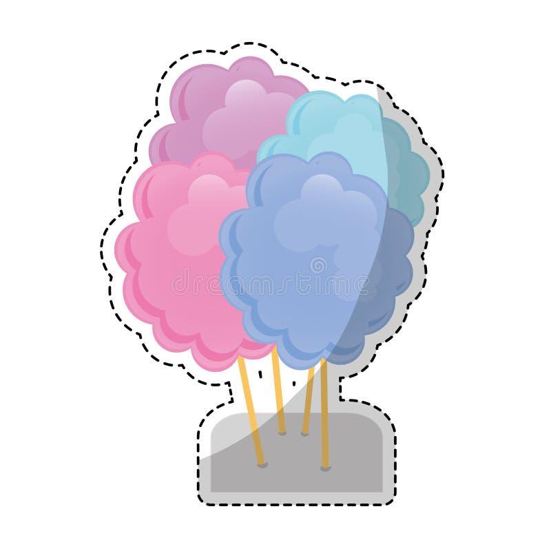 Download сладостный дизайн конфеты иллюстрация вектора. иллюстрации насчитывающей ретро - 81802443