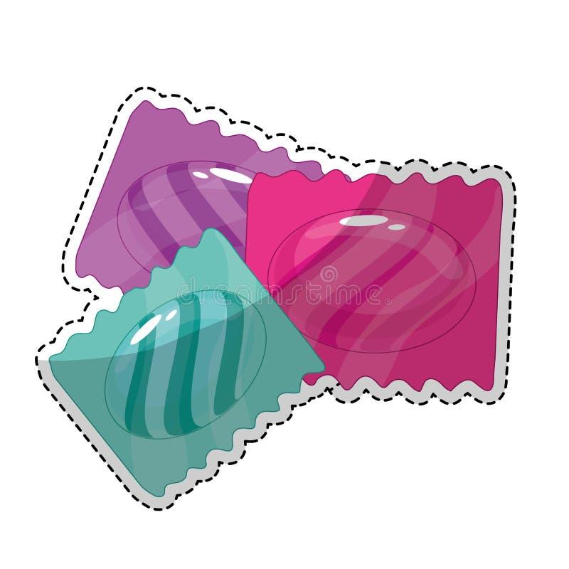 Download сладостный дизайн конфеты иллюстрация вектора. иллюстрации насчитывающей еда - 81802460
