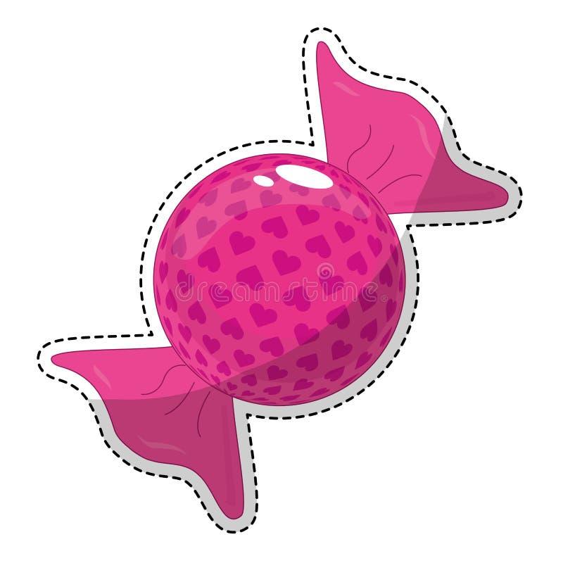 Download сладостный дизайн конфеты иллюстрация вектора. иллюстрации насчитывающей обслуживание - 81802489