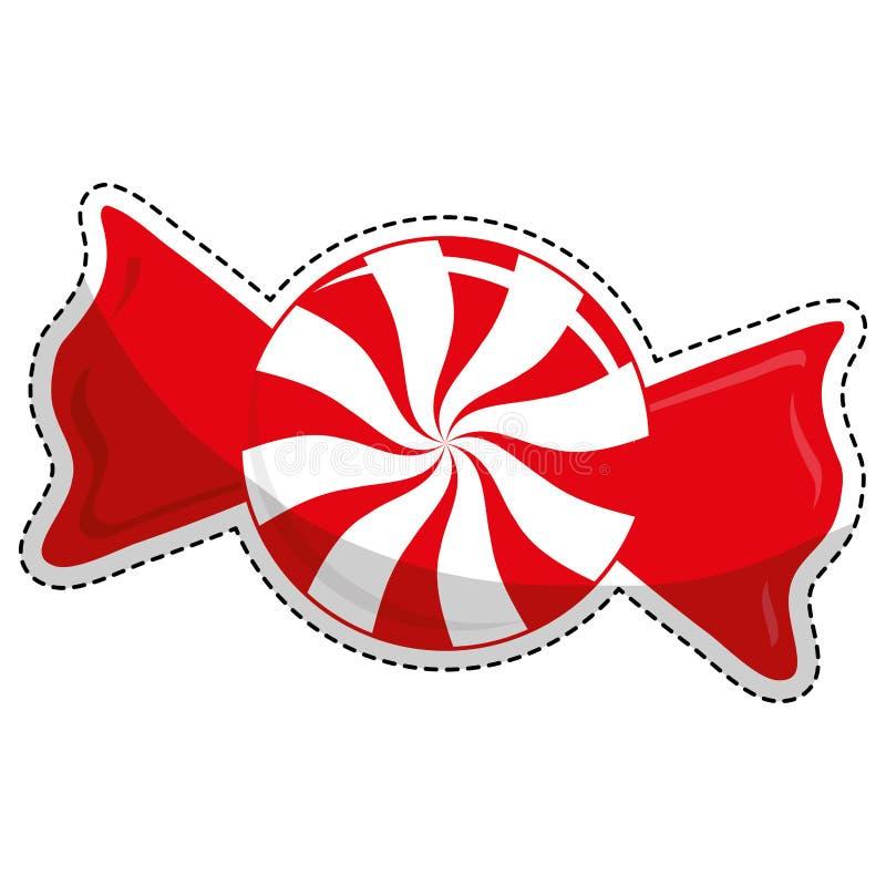 Download сладостный дизайн конфеты иллюстрация вектора. иллюстрации насчитывающей магазин - 81802524