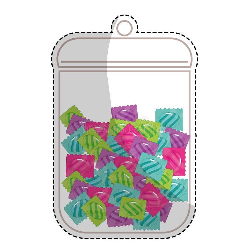 Download сладостный дизайн конфеты иллюстрация вектора. иллюстрации насчитывающей график - 81802570