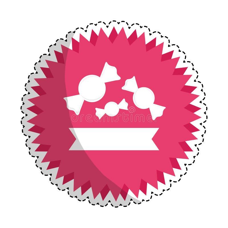 Download сладостный дизайн конфеты иллюстрация вектора. иллюстрации насчитывающей конфета - 81802598