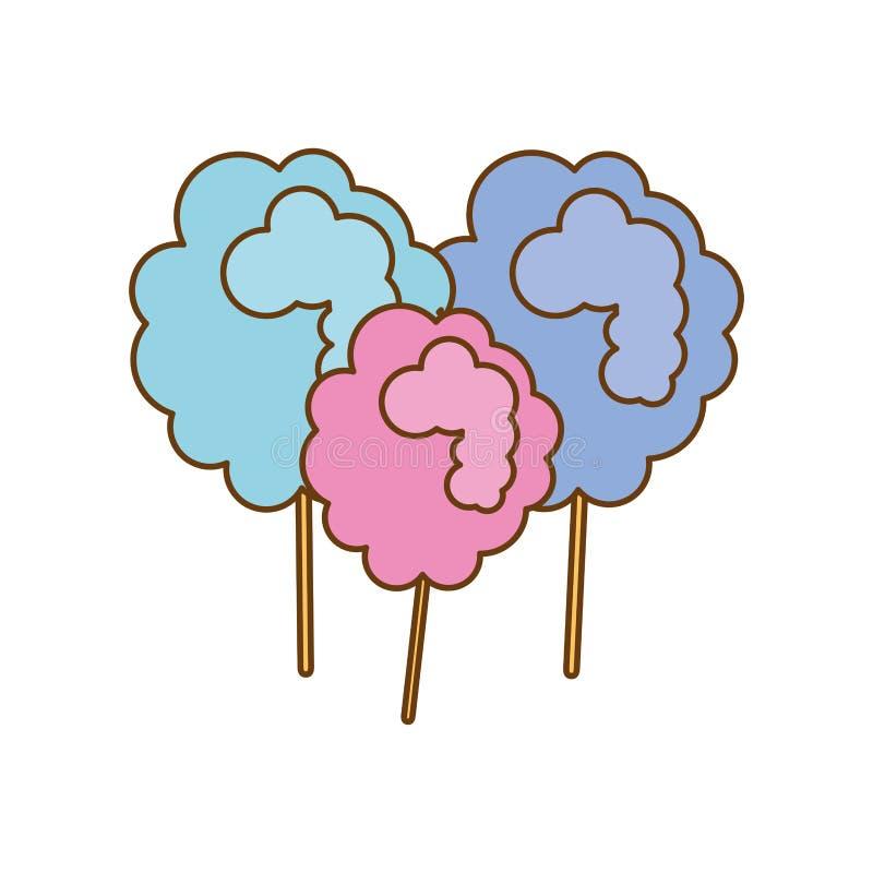 Download сладостный дизайн конфеты иллюстрация вектора. иллюстрации насчитывающей кондитерская - 81802619