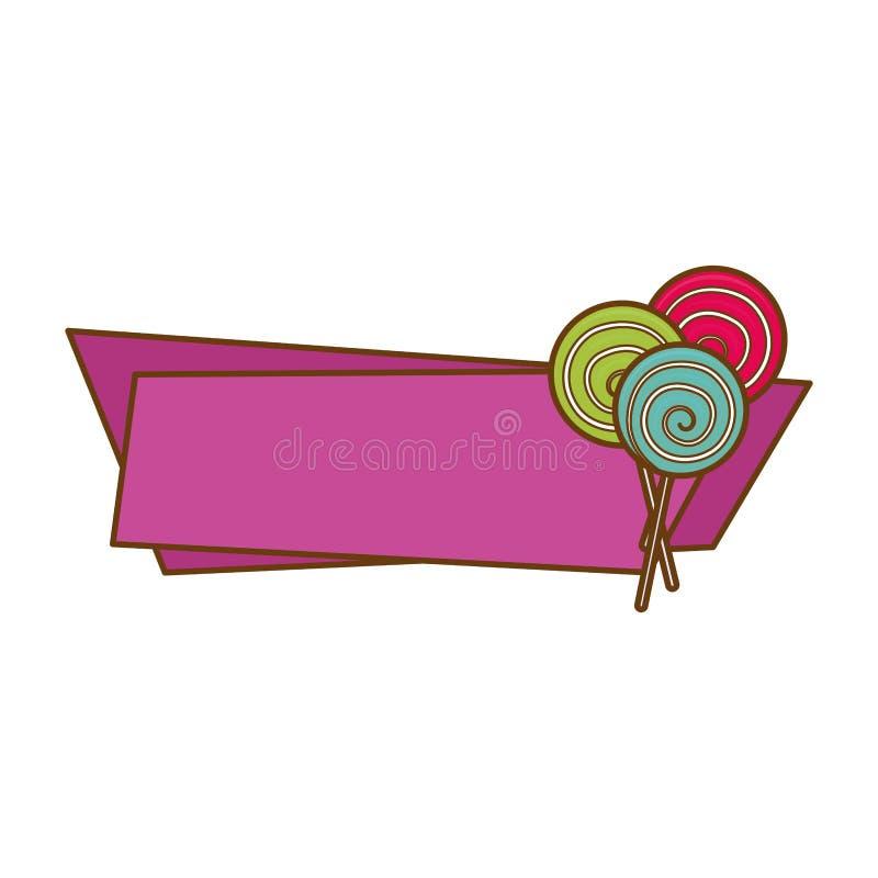 Download сладостный дизайн конфеты иллюстрация вектора. иллюстрации насчитывающей сладостно - 81802771
