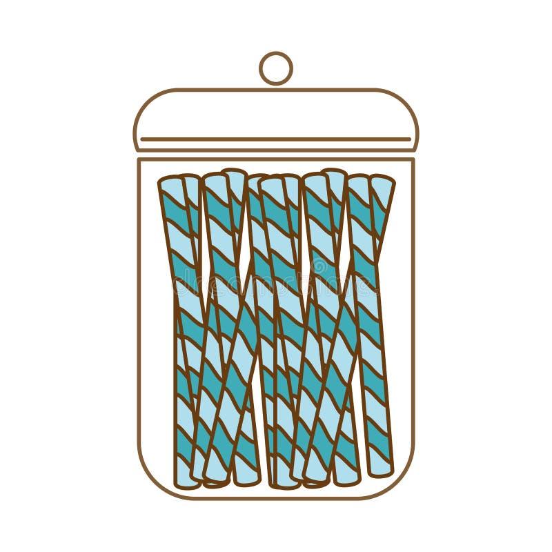 Download сладостный дизайн конфеты иллюстрация вектора. иллюстрации насчитывающей кондитерская - 81802781