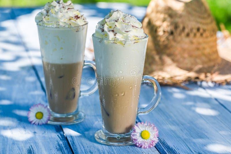Сладостный кофе с льдом стоковые фото