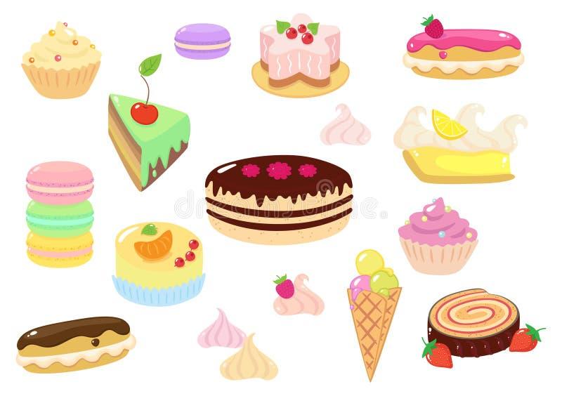 Сладостный Confection иллюстрация штока