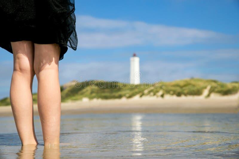 С берега стоковые фотографии rf