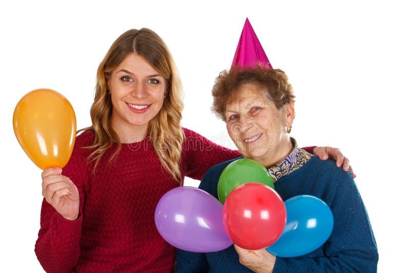 С днем рождения, бабушка стоковая фотография