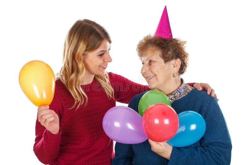 С днем рождения, бабушка стоковое фото