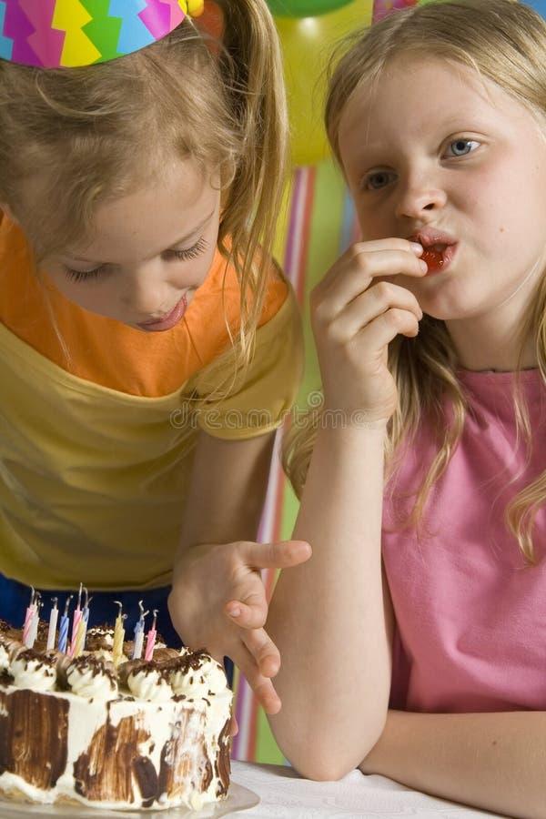 С днем рождения стоковая фотография rf
