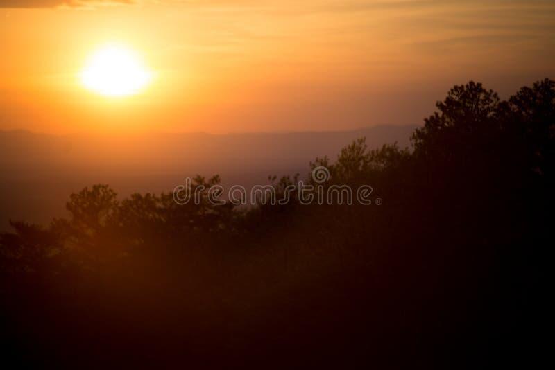 Слепимость захода солнца стоковые фото
