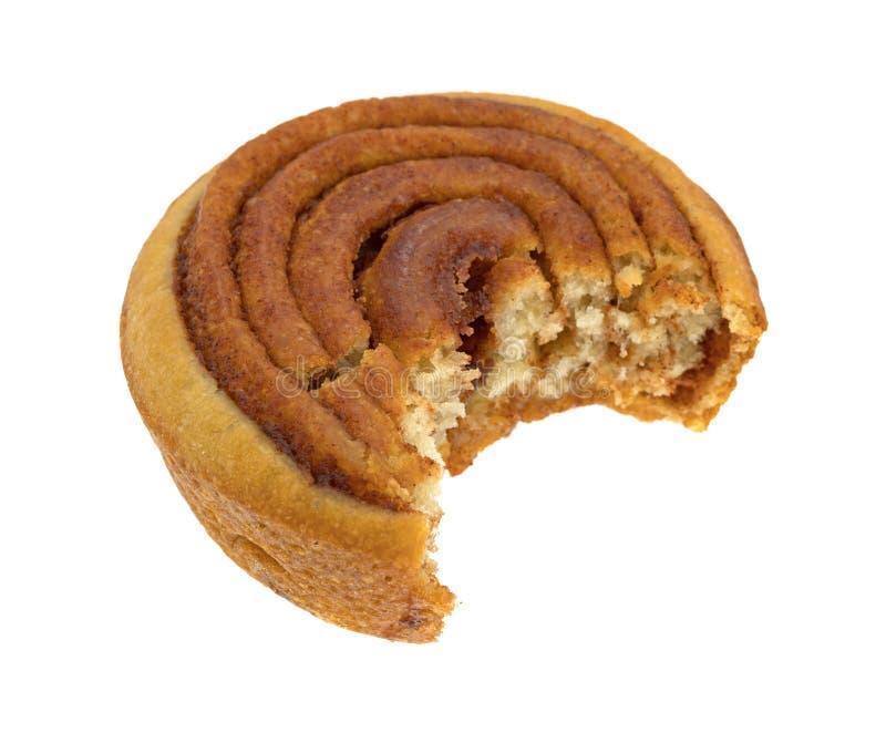 Сдержанный крен пекана сладостный на белой предпосылке стоковое изображение rf