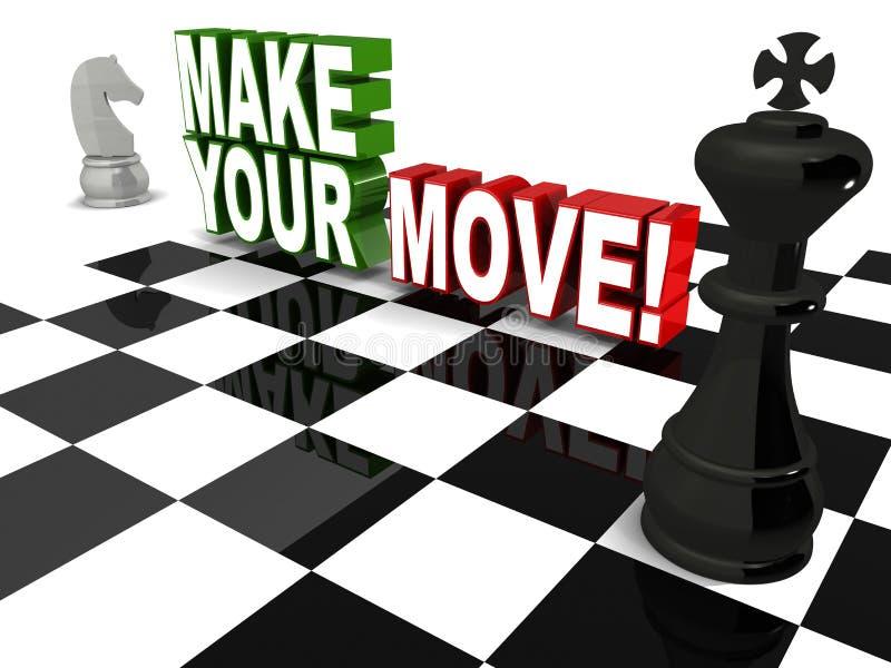 Сделайте ваше движение бесплатная иллюстрация