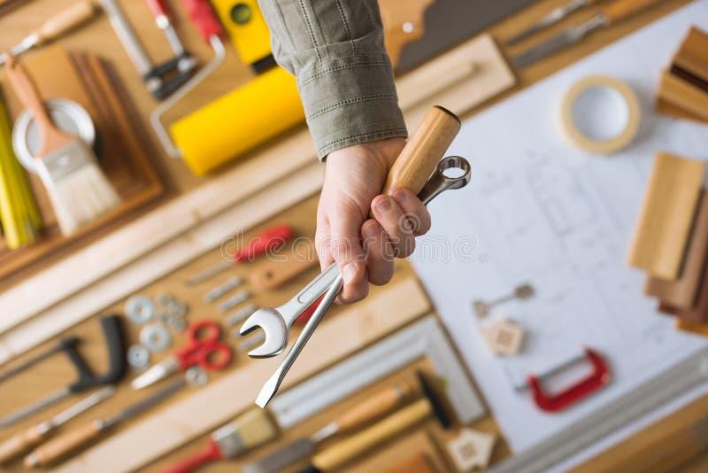 Сделайте его себя и домашние инструменты реновации стоковая фотография