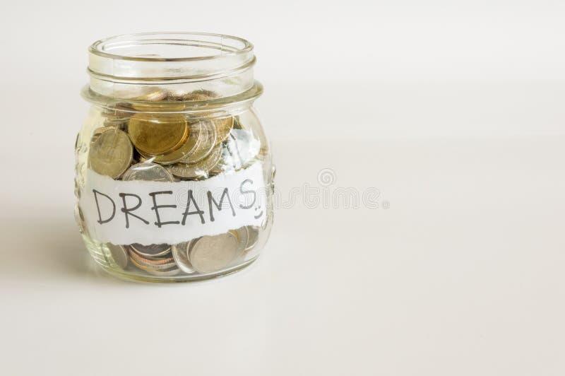 Сделайте мечты приходит верно стоковые изображения rf