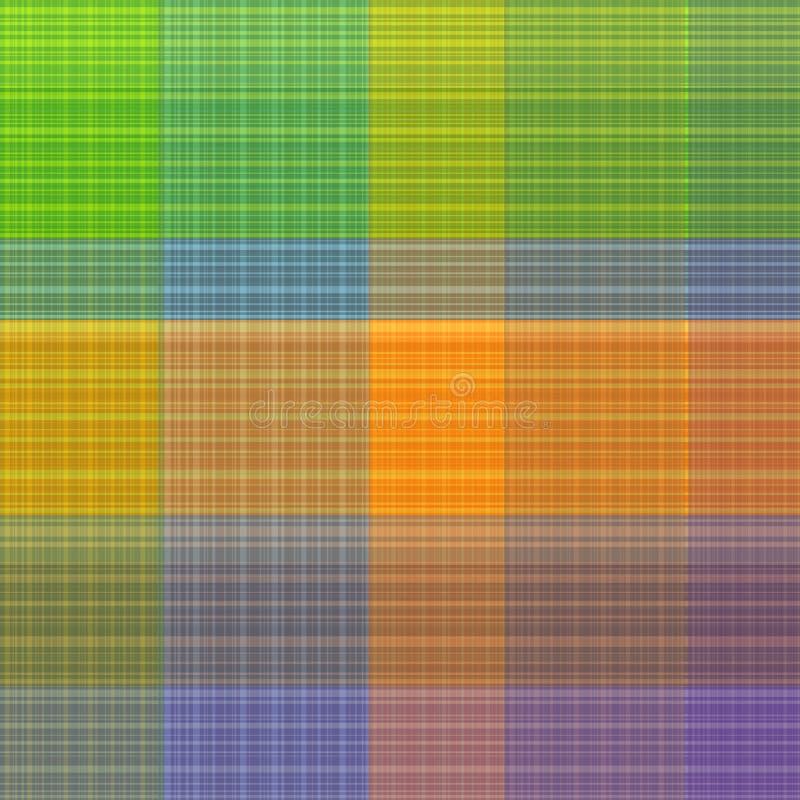 сделайте по образцу квадрат Предпосылка вектора винтажной шотландки безшовная простая иллюстрация вектора