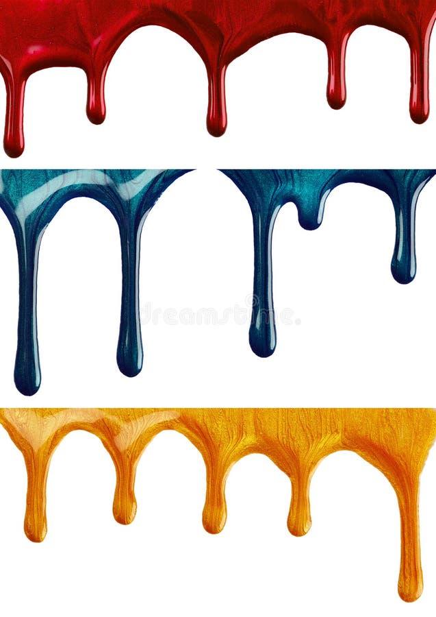 сделайте продукты маникюра вверх стоковая фотография rf