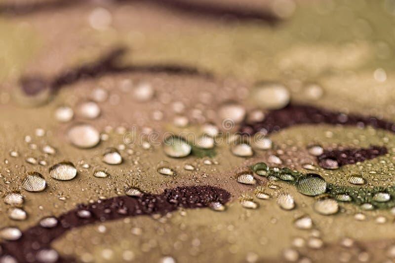 Сделайте ткань водостойким камуфлирования стоковое изображение rf