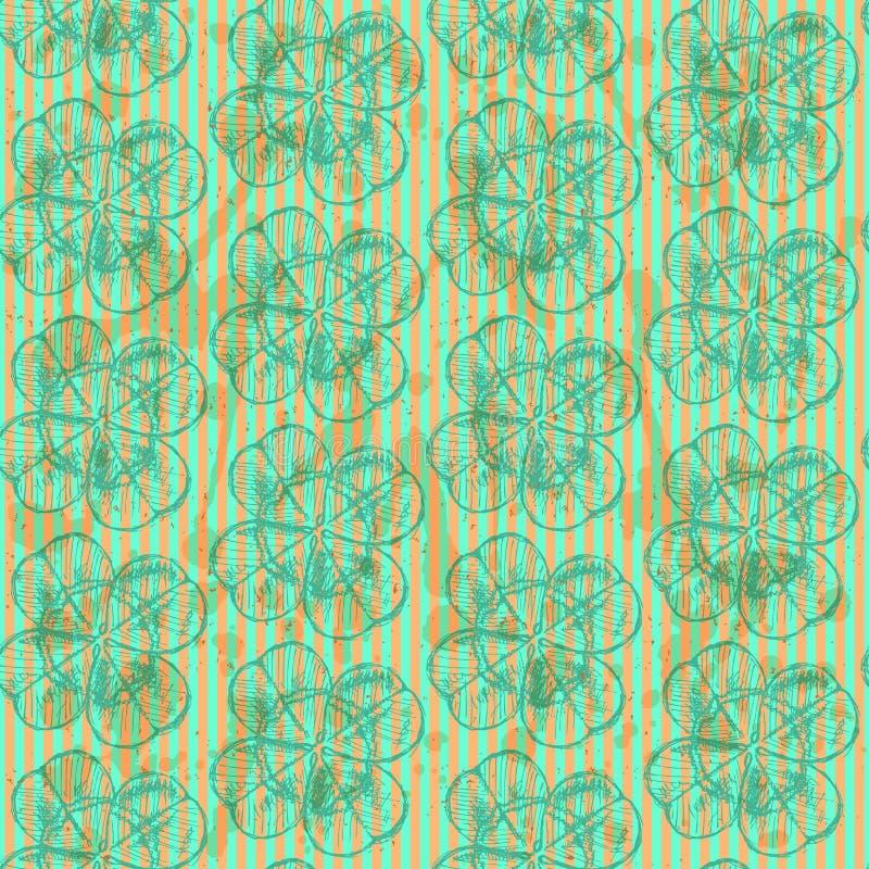 Download Сделайте эскиз к клеверу, картине вектора безшовной, Symbo дня St. Patrick Иллюстрация вектора - иллюстрации насчитывающей кельтско, нарисовано: 40581457