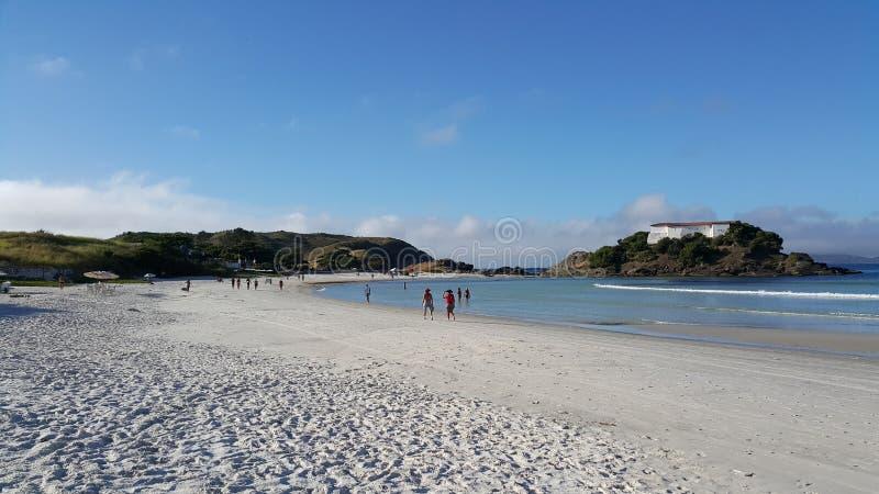 сделайте praia сильной стороны стоковые фотографии rf