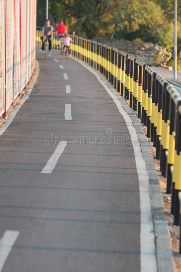 След велосипеда стоковые изображения rf