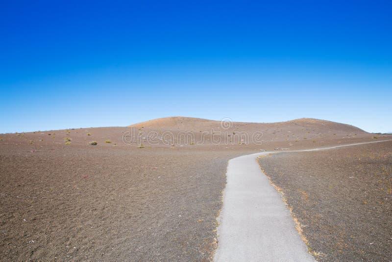 След Гавайские островы Desolation стоковая фотография rf