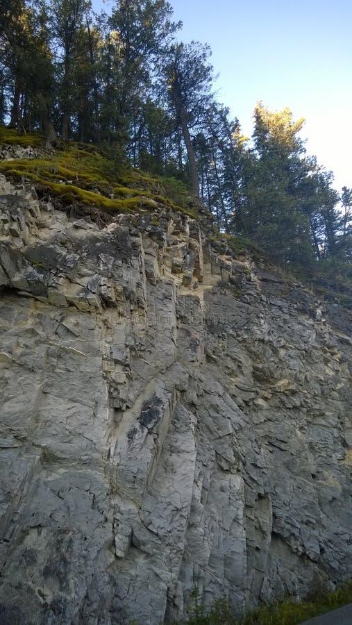 След стороны banff горы тоннеля стоковое фото rf