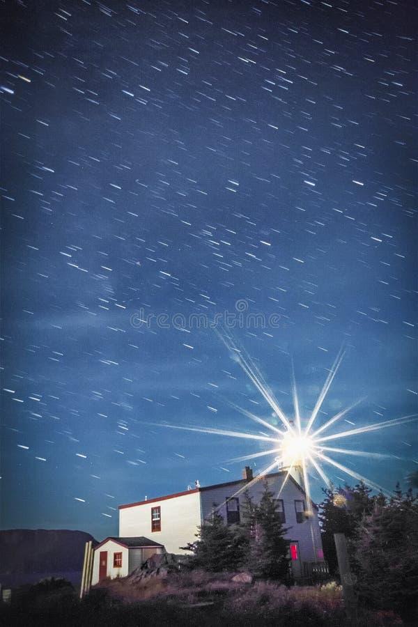 Следы звезды, маяк головы бухты омара стоковые фото