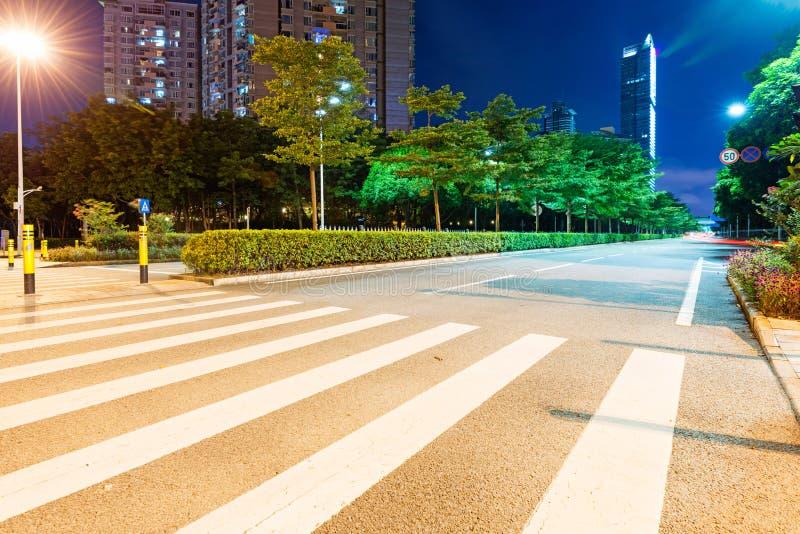 Следы света стоковая фотография rf