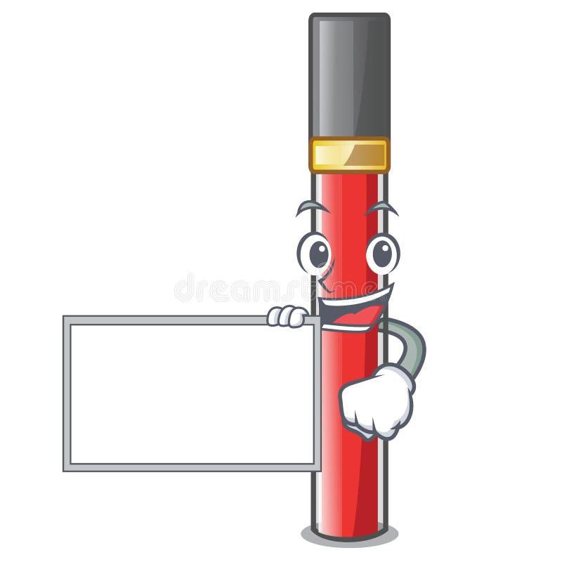 С лоском губы доски в форме мультфильма иллюстрация штока