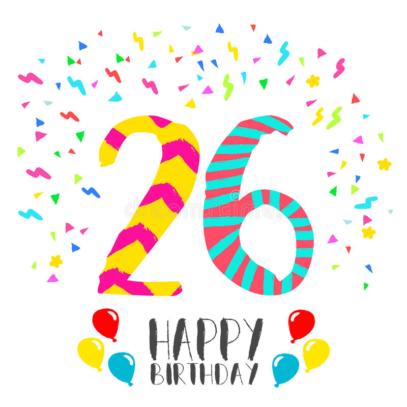 Поздравление с 26 летием рождения
