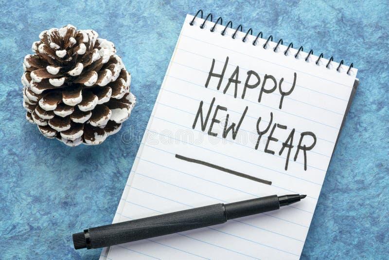 С Новым Годом! поздравительная открытка стоковые фото