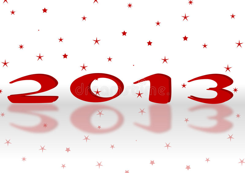 С новым годом 2013 стоковое фото