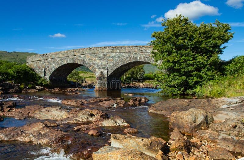 сдобренный мост стоковая фотография rf